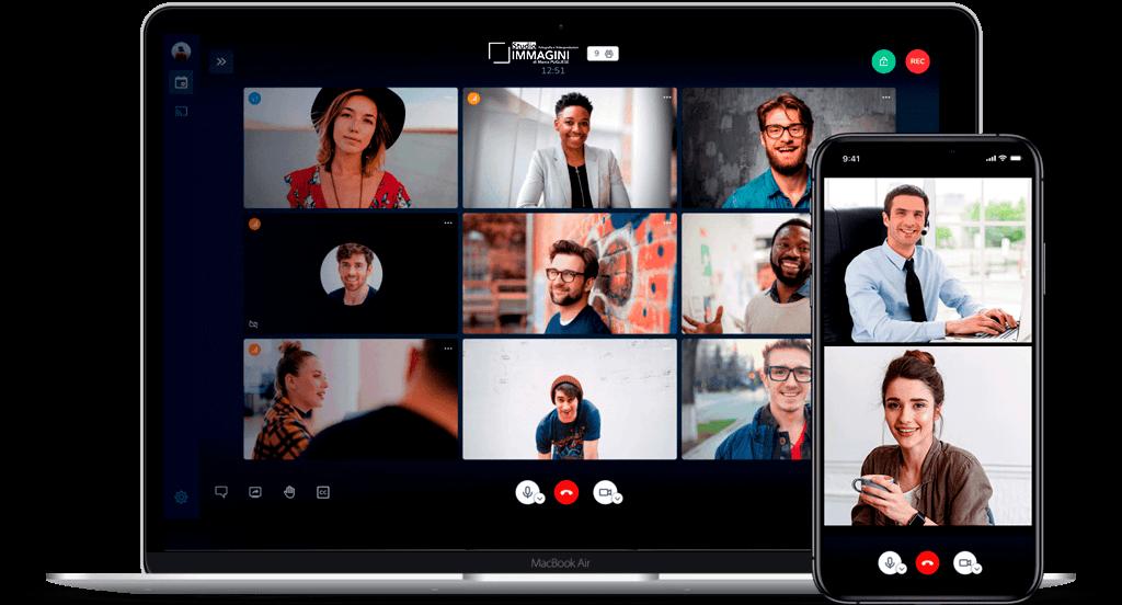 sistema meeting videoconferenza novara