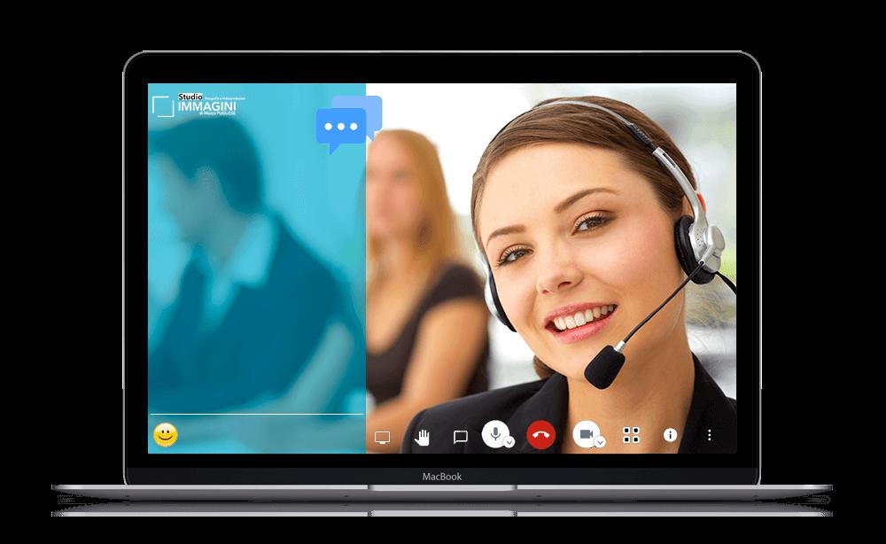 videoconferenza videochiamate meeting chat novara